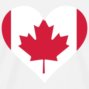 A heart for Canada T-Shirts - Men's Premium T-Shirt