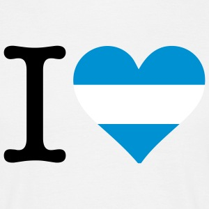 I love Argentine Tee shirts - T-shirt Homme