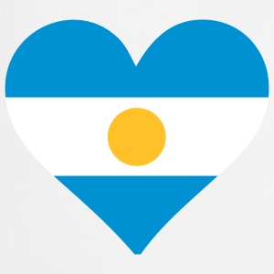 A heart for Argentina  Aprons - Cooking Apron