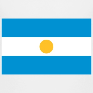 National Flag of Argentina Skjorter - Premium T-skjorte for barn