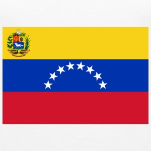 National Flag of Venezuela Topit - Naisten premium hihaton toppi