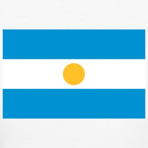 Nationalflagge von Argentinien T-Shirts - Frauen Bio-T-Shirt