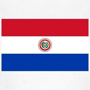 National Flag of Paraguay T-Shirts - Women's T-Shirt