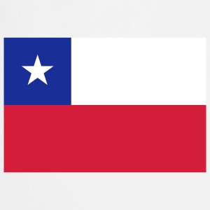 Nationale flag Chile Forklæder - Forklæde
