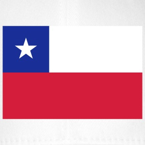 Nationalflagge von Chile Caps & Mützen - Flexfit Baseballkappe