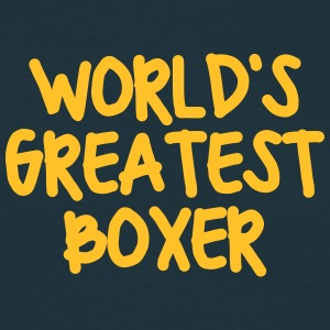 worlds greatest boxer - Men's T-Shirt