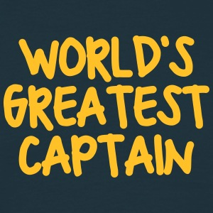 worlds greatest captain - Men's T-Shirt