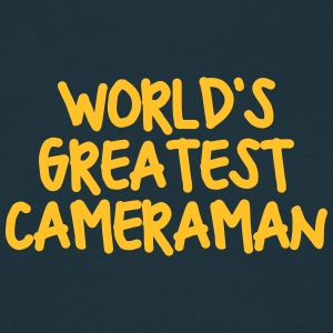 worlds greatest cameraman - Men's T-Shirt