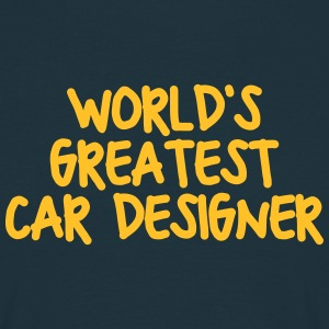 worlds greatest car designer - Men's T-Shirt