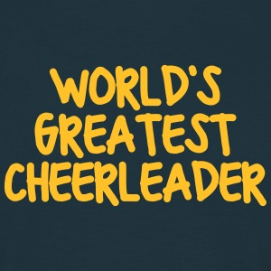 worlds greatest cheerleader - Men's T-Shirt