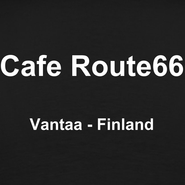 CafeRoute66 t-shirt