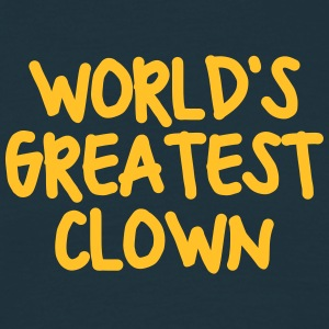 worlds greatest clown - Men's T-Shirt