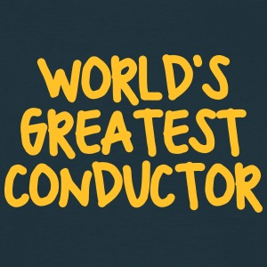 worlds greatest conductor - Men's T-Shirt