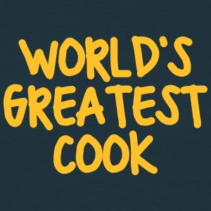 worlds greatest cook - Men's T-Shirt