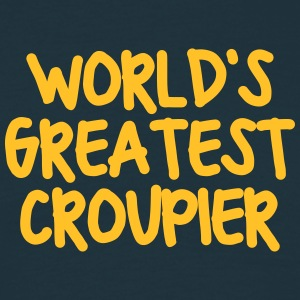 worlds greatest croupier - Men's T-Shirt
