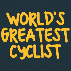 worlds greatest cyclist - Men's T-Shirt