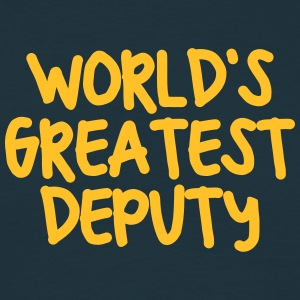 worlds greatest deputy - Men's T-Shirt