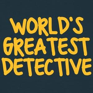 worlds greatest detective - Men's T-Shirt