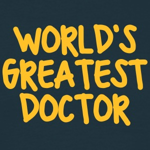 worlds greatest doctor - Men's T-Shirt