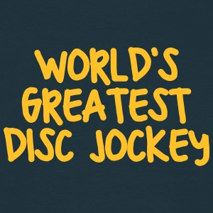 worlds greatest disc jockey - Men's T-Shirt