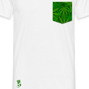 Poche Weed Tee shirts - T-shirt Homme