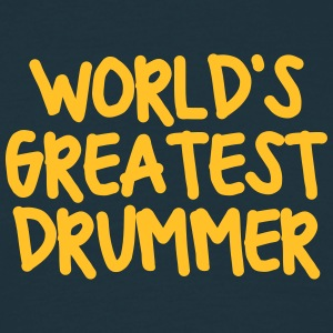 worlds greatest drummer - Men's T-Shirt