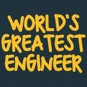 worlds greatest engineer - Men's T-Shirt