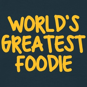 worlds greatest foodie - Men's T-Shirt