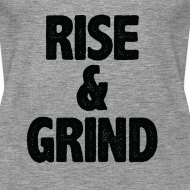 Design ~ Rise & Grind | Womens tank