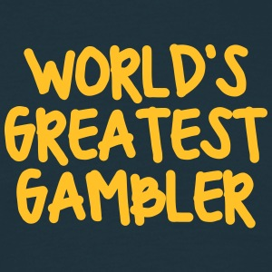 worlds greatest gambler - Men's T-Shirt
