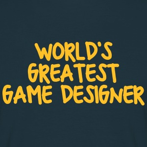 worlds greatest game designer - Men's T-Shirt
