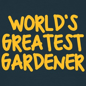 worlds greatest gardener - Men's T-Shirt