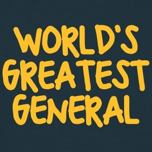 worlds greatest general - Men's T-Shirt