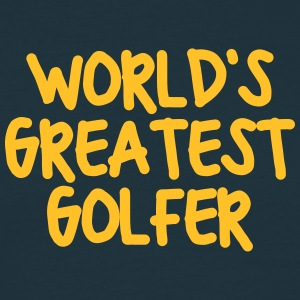worlds greatest golfer - Men's T-Shirt