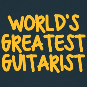 worlds greatest guitarist - Men's T-Shirt