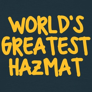 worlds greatest hazmat - Men's T-Shirt