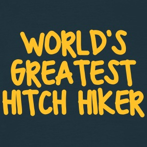 worlds greatest hitch hiker - Men's T-Shirt