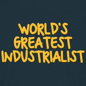 worlds greatest industrialist - Men's T-Shirt