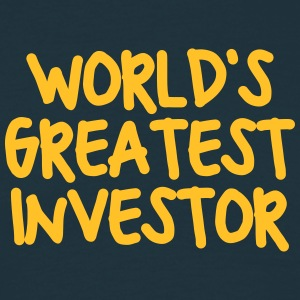 worlds greatest investor - Men's T-Shirt