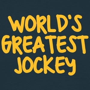 worlds greatest jockey - Men's T-Shirt