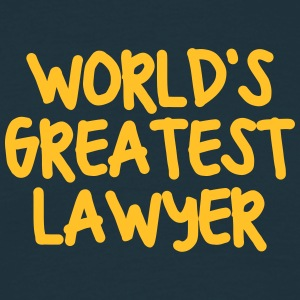 worlds greatest lawyer - Men's T-Shirt