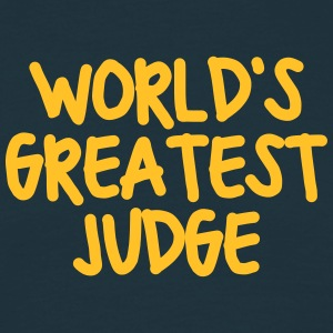 worlds greatest judge - Men's T-Shirt