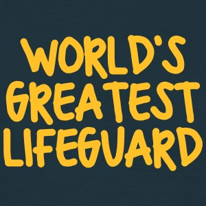 worlds greatest lifeguard - Men's T-Shirt