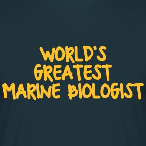 worlds greatest marine biologist - Men's T-Shirt