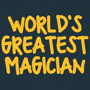 worlds greatest magician - Men's T-Shirt