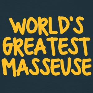 worlds greatest masseuse - Men's T-Shirt