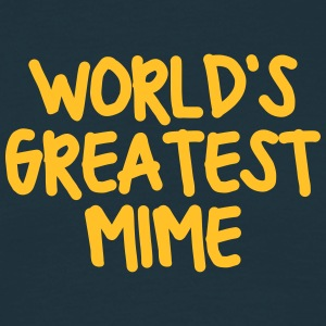 worlds greatest mime - Men's T-Shirt