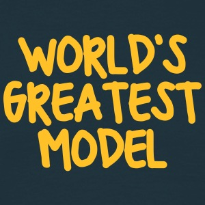 worlds greatest model - Men's T-Shirt