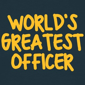 worlds greatest officer - Men's T-Shirt
