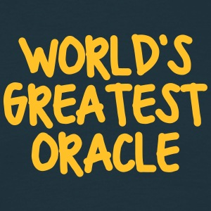 worlds greatest oracle - Men's T-Shirt